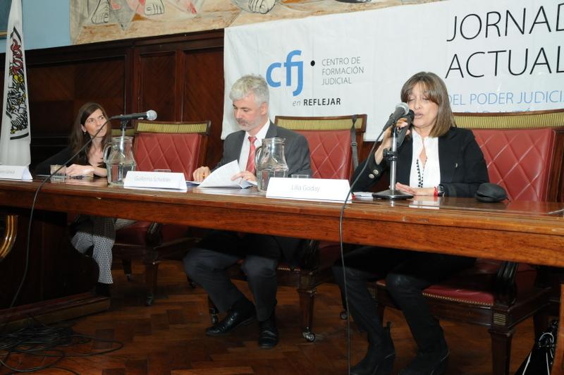 Fotos, gentileza Centro de Formación Judicial