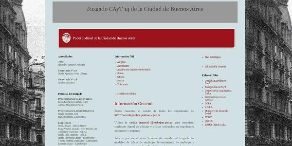 Juzgado-CAyT-14-CABA-Blog
