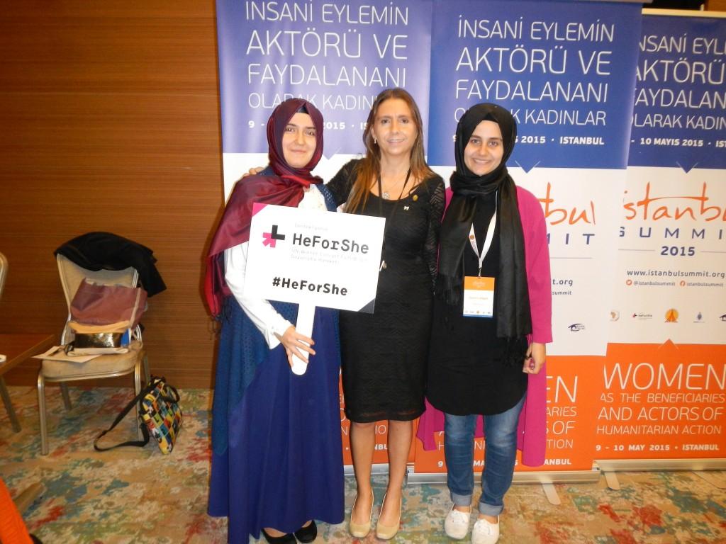 Participación de Natalia Molina . Cumbre de Estambul 2015