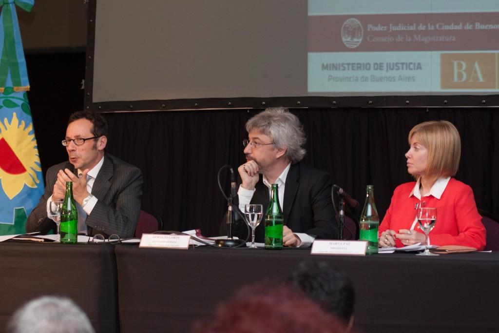 Fotos Gentileza del Departamento de Prensa del Consejo de la Magistratura CABA
