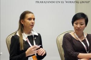 Natalia Molina, Grupo de Trabajo