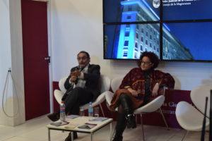 Los jueces Bentolila y Cavaliere, durante su disertación. Foto:IJudicial