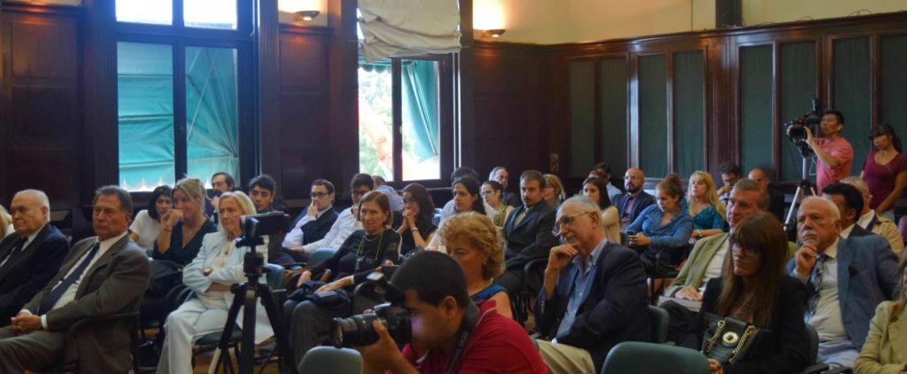 Salón Verde de la Facultad de Derecho de la Universidad de Buenos Aires