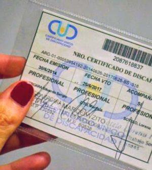 Resultado de imagen para certificado de discapacidad