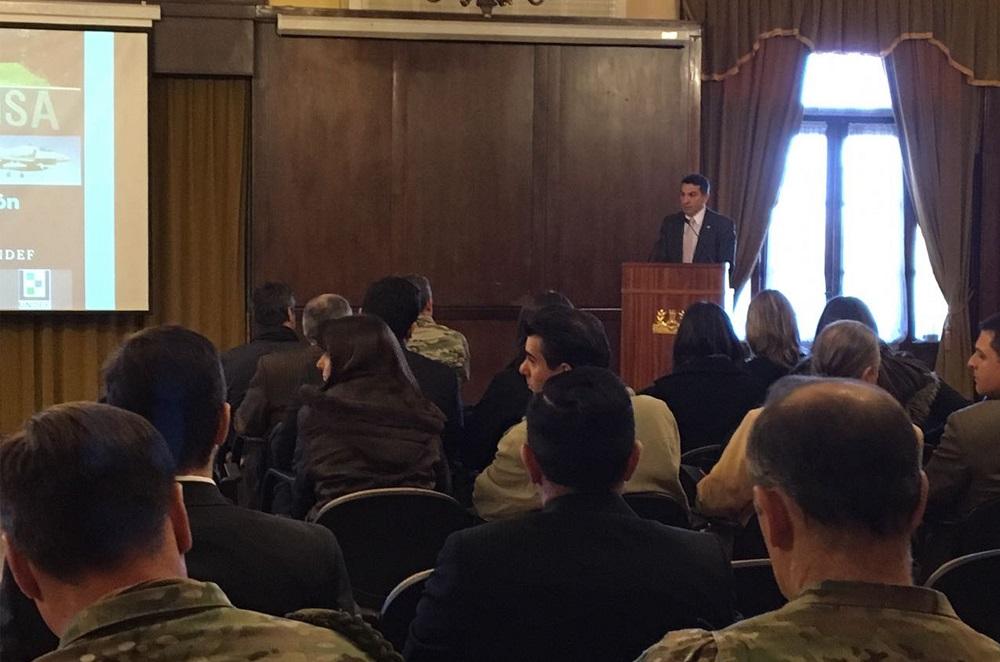 """Inauguración del """"Encuentro de Formación Docente en Derecho: Estudio de Casos"""". Foto Ministerio de Defensa de la Nación"""